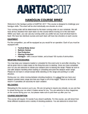 HANDGUN COURSE BRIEF